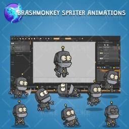 Dumb Robot - Brashmonkey Spriter Animation