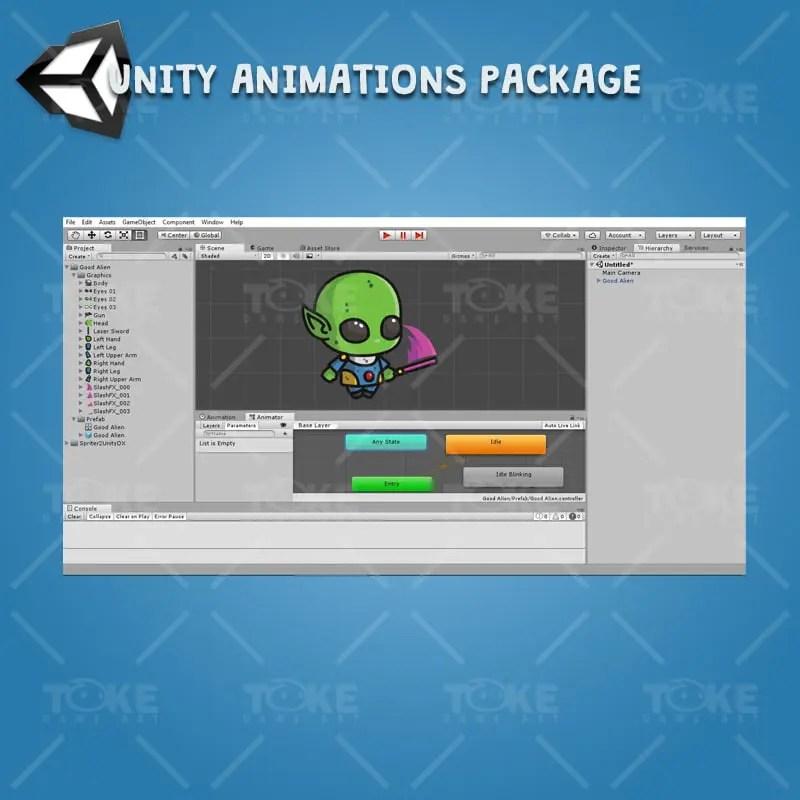 Good Alien - Unity Animation Ready