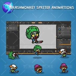 Tiny Evil Clown - Brashmonkey Spriter Character Animation