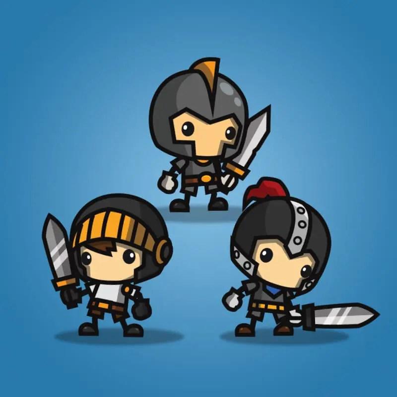 Mini Knight Character Pack