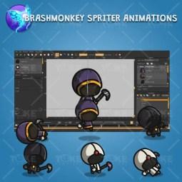 Tiny Executioners - Brashmonkey Spriter Character Animation