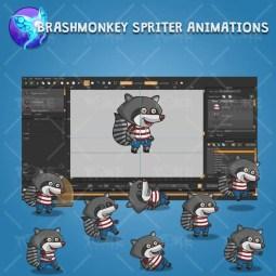 Raccoon - Brashmonkey Spriter Character Animation