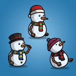 Snowman Character Pack