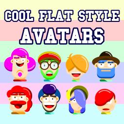 Cool Flat Style Avatars