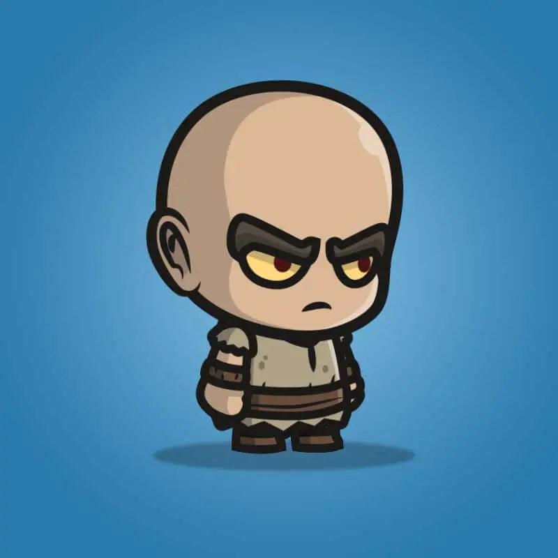 Evil Bald Guy