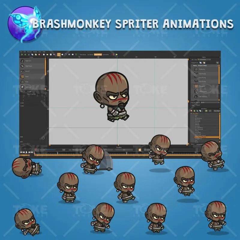 Inca Tribe - Brashmonkey Spriter Character Animations