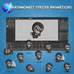 Medieval Knight - Brashmonkey Spriter Character Animations