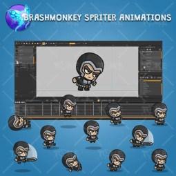 Medieval Knight - Brashmonkey Spriter Character Animations