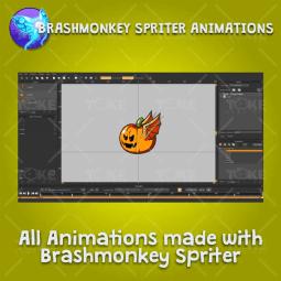 Flying Enemy 4 Pack - Brashmonkey Spriter Character Animations