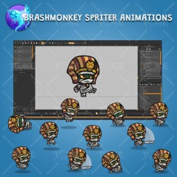 Egyptian Mummy - Brashmonkey Spriter Character Animations