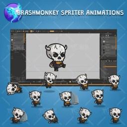 Skull Knight - Brashmonkey Spriter Character Animations
