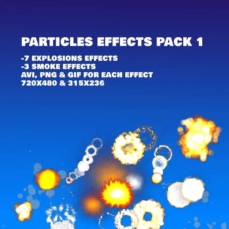 Particles effects pack 1 - Game Visual Effect
