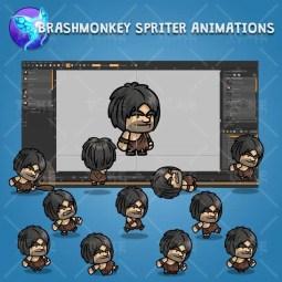Caveman Guy - Brashmonkey Spriter Character Animations