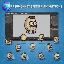 Potato Guy - Brashmonkey Spriter Character Animations