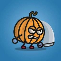 Pumpkin Guy - 2D Character Sprite