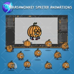Pumpkin Guy - Brashmonkey Spriter Character Animations