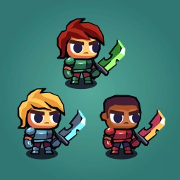 Hero Knight Characters - 2D Character Sprite