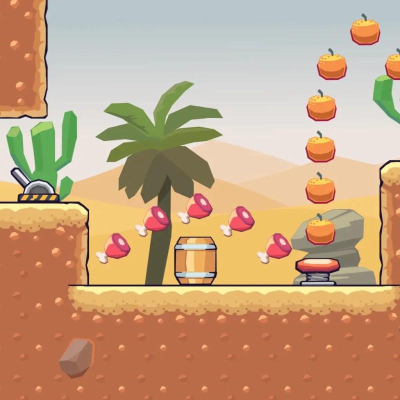 Desert Area - 2D Game Tileset