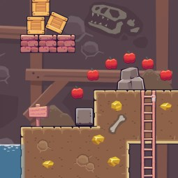 Mine Area - 2D Game Tileset