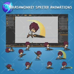 Knight Boy - Brashmonkey Spriter Character Animations