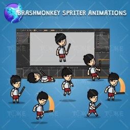 Sad Boy - Brashmonkey Spriter Character Animations