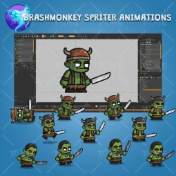 Evil Orc - Brashmonkey Spriter Character Animations