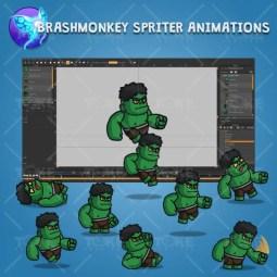 Gigantic Orc - Brashmonkey Spriter Character Animations
