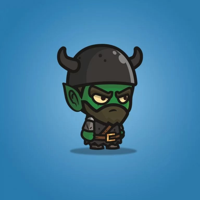 Goblin Knight - 2D Character Sprite