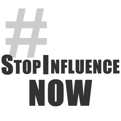 #StopInfluenceNow: On Hashtag Activism and Our Children's