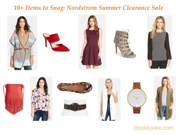 Fall for Savings: Nordstrom Summer Clearance Sale