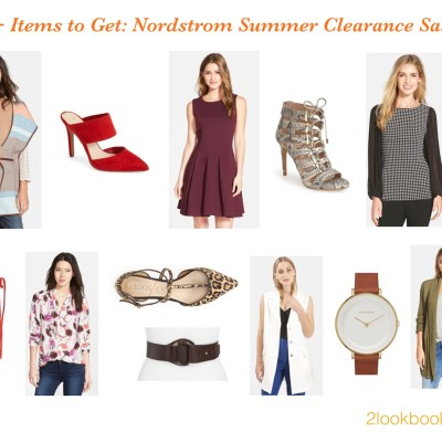Fall for Savings=Nordstrom Summer Clearance Sale