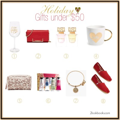 Holiday Gifts for Her (under $50)