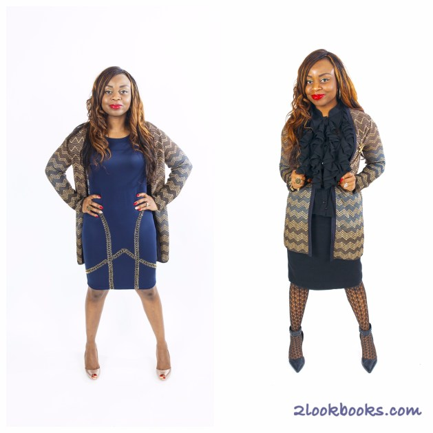 Sparkly Missoni Sweater - 2 ways