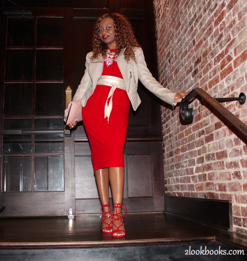 Red Party Dress1