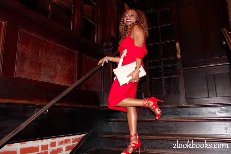 Red Party Dress4