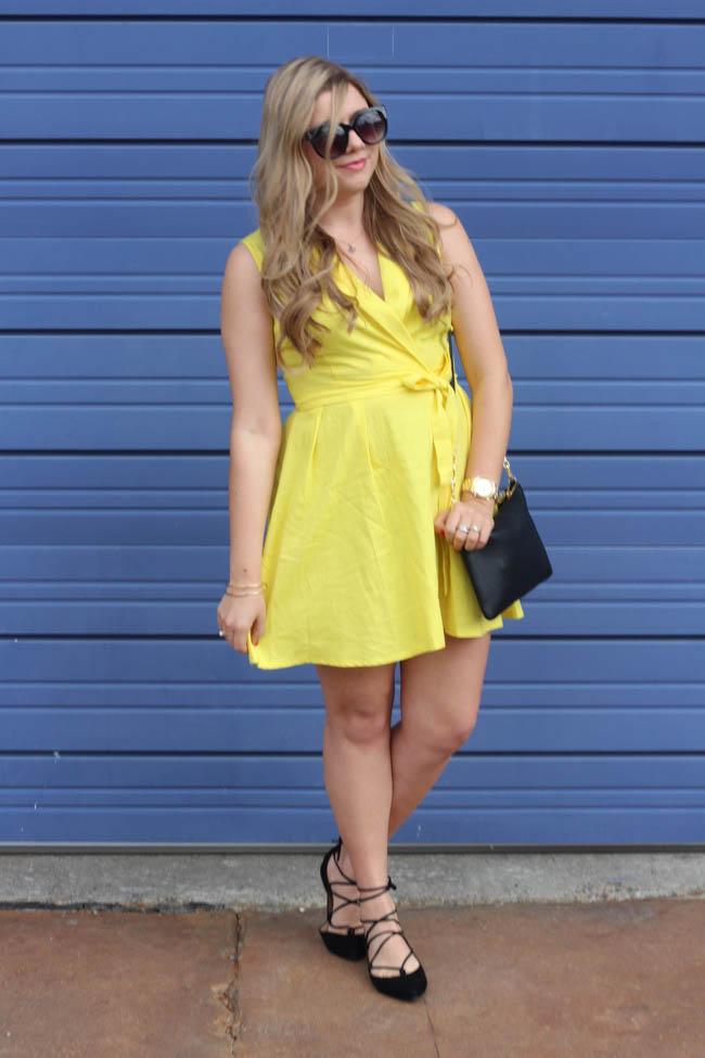 Ana-Yellow Dress