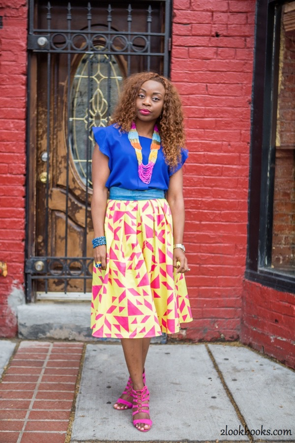 How to Style a Yellow Skirt3