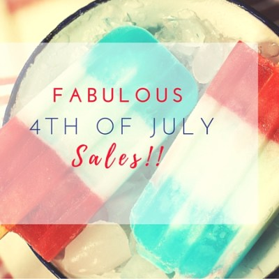 Your Comprehensive List of July 4th Sales