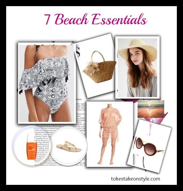 Beach Essentials Shot