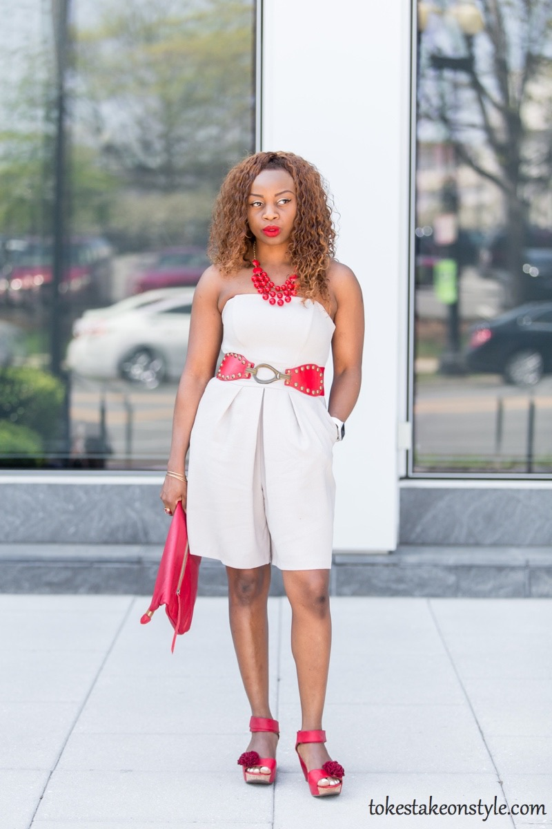 How to Wear a Culotte Jumpsuit in Summer1