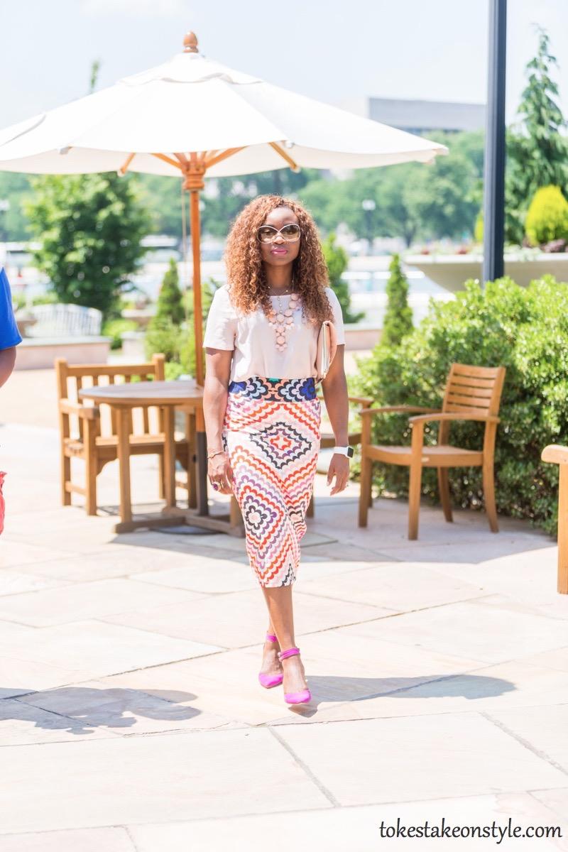 Print Skirt and Pastel Top-3 Ways8
