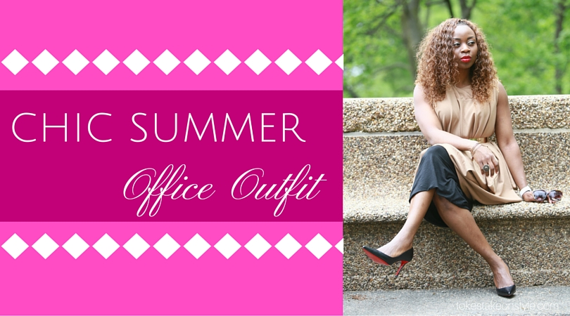 Chic Summer Office Outfit (2)