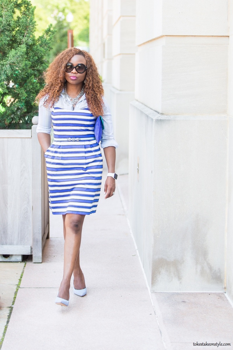 How to Style a Slip Dress for Work5