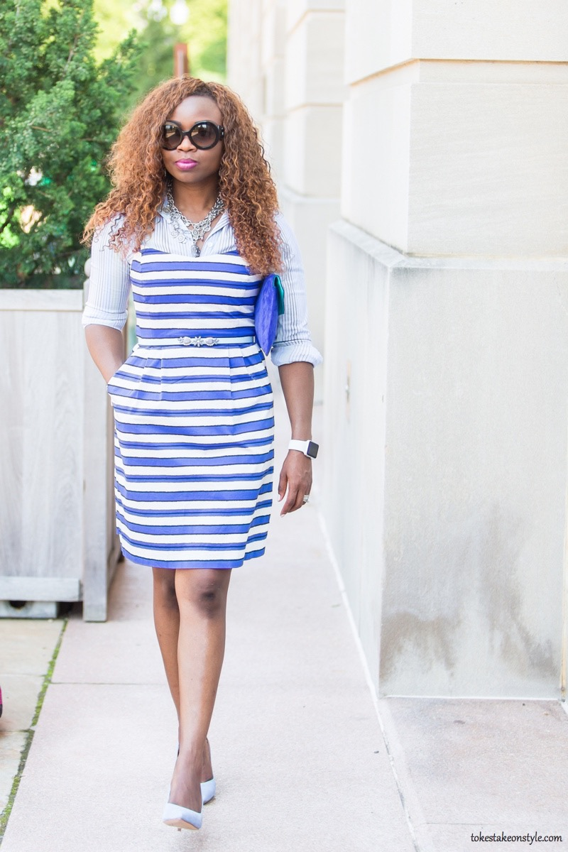 How to Style a Slip Dress for Work6