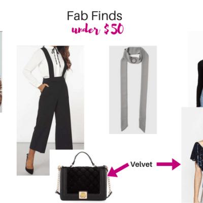 Fab Fashion Finds under $50