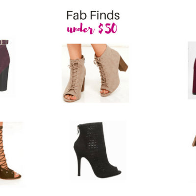 Fab Boots under $50