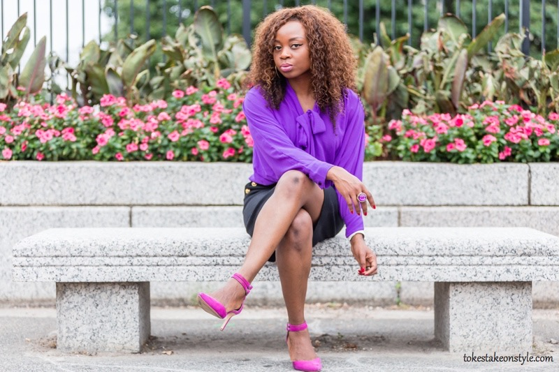 fall-style-purple-pussybow-blouse-pink-pumps2