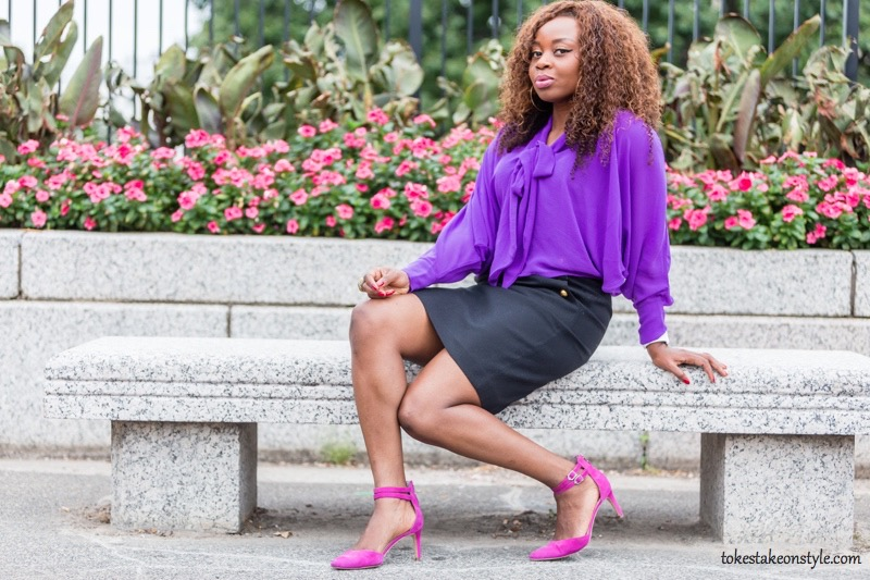 fall-style-purple-pussybow-blouse-pink-pumps3
