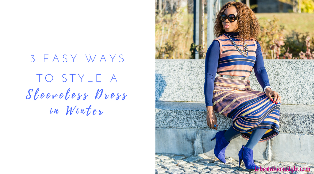 3-ways-to-style-a-sleeveless-dress-in-winter