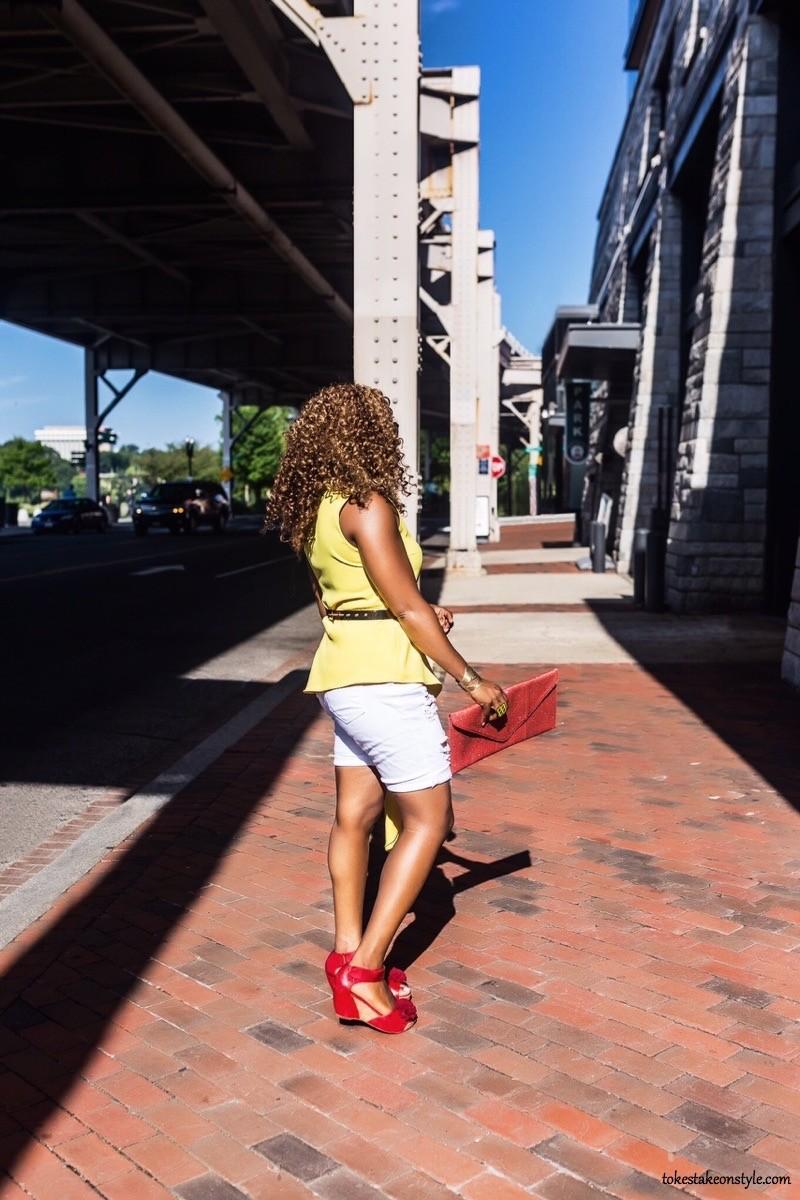 Black fashion blogger casual style